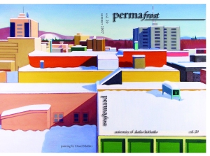Permafrost Cover 2006, Painting by Dave Mollett